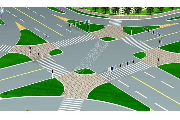 提供路口设计效果图-001