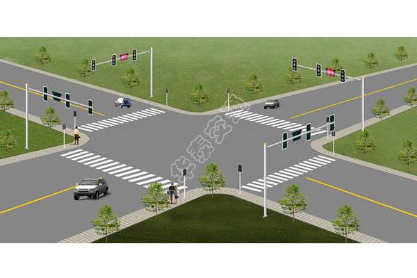 提供路口设计效果图-002
