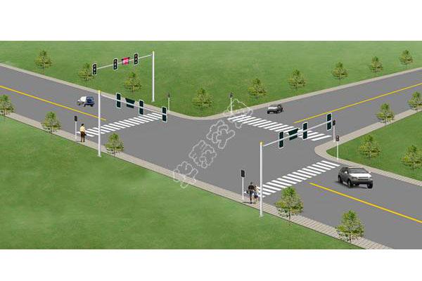 提供路口设计效果图-003