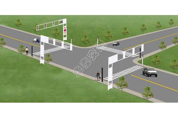 提供路口设计效果图-004